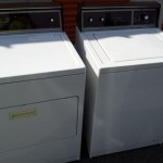 Washer and dryer remvoal