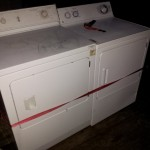 washing machine and dryer pick up